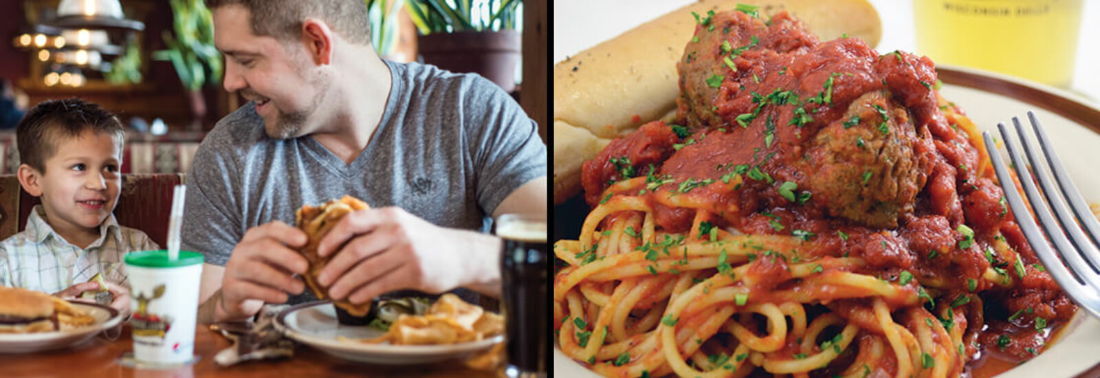 Family Friendly Food with Create-Your-Own Pastas