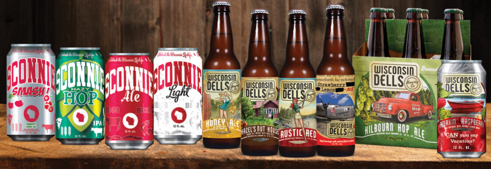 Introducing the Dells Brewing Co. Beer line-up!