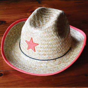 Kids' Red Cowboy Hat - 4.99