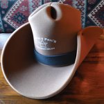 Foam Cowboy Hat Brown - 18.99