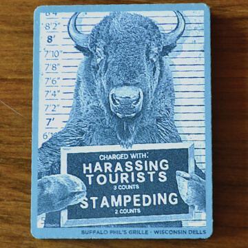 Harrasing Tourists Magnet - 4.99