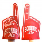 Sconnie Ale Foam Finger - 4.99